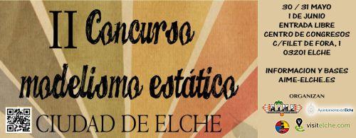 II Concurso de Modelismo Estatico - Ciudad de Elche BANNER_IICONCURSO