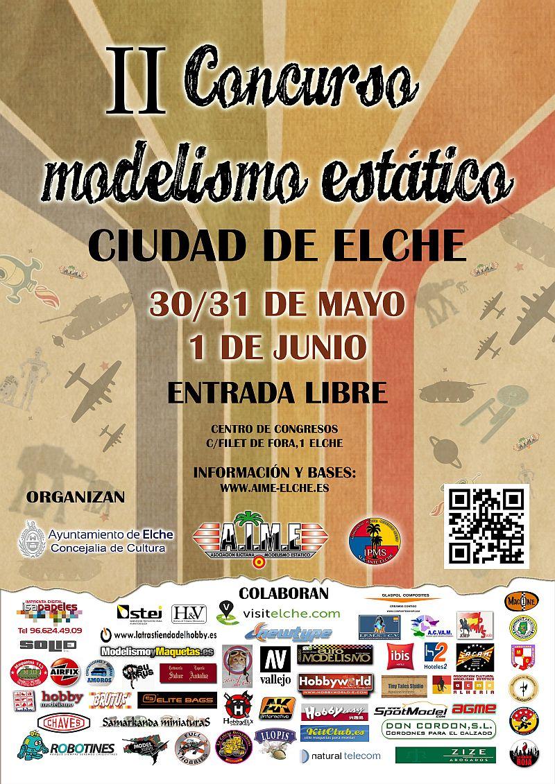 II Concurso modelismo estatico IIconcurso_elche_cartel290114_p2