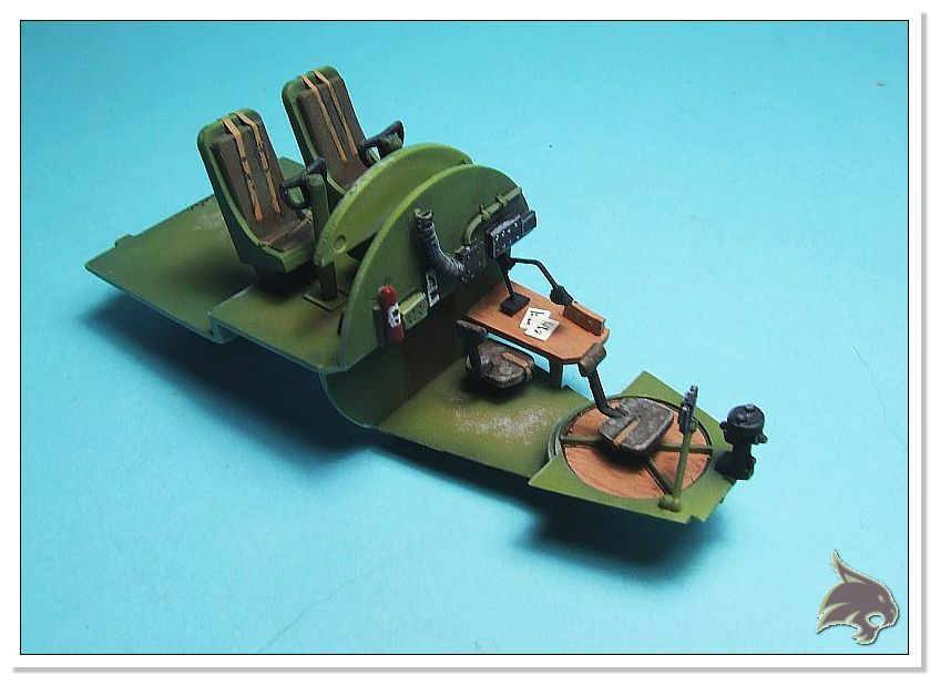 Boeing B-17 G Flying Fortress, 486th Group Bomber 1944 - Academy 1/72 Pintura10