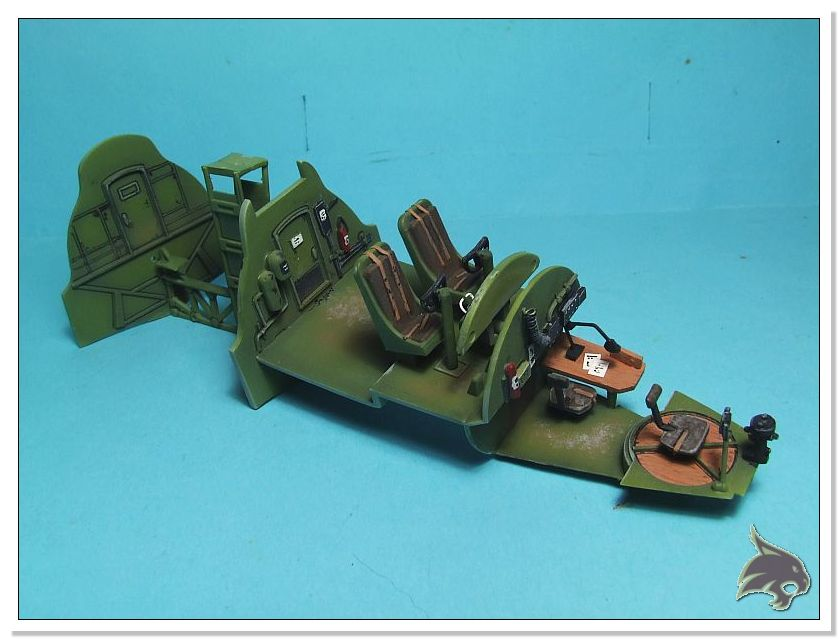 Boeing B-17 G Flying Fortress, 486th Group Bomber 1944 - Academy 1/72 Pintura12