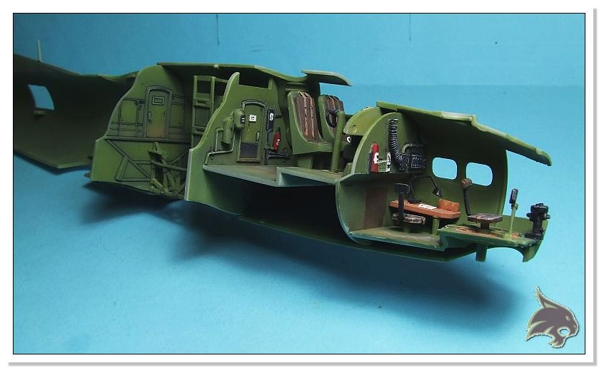 Boeing B-17 G Flying Fortress, 486th Group Bomber 1944 - Academy 1/72 Pintura15
