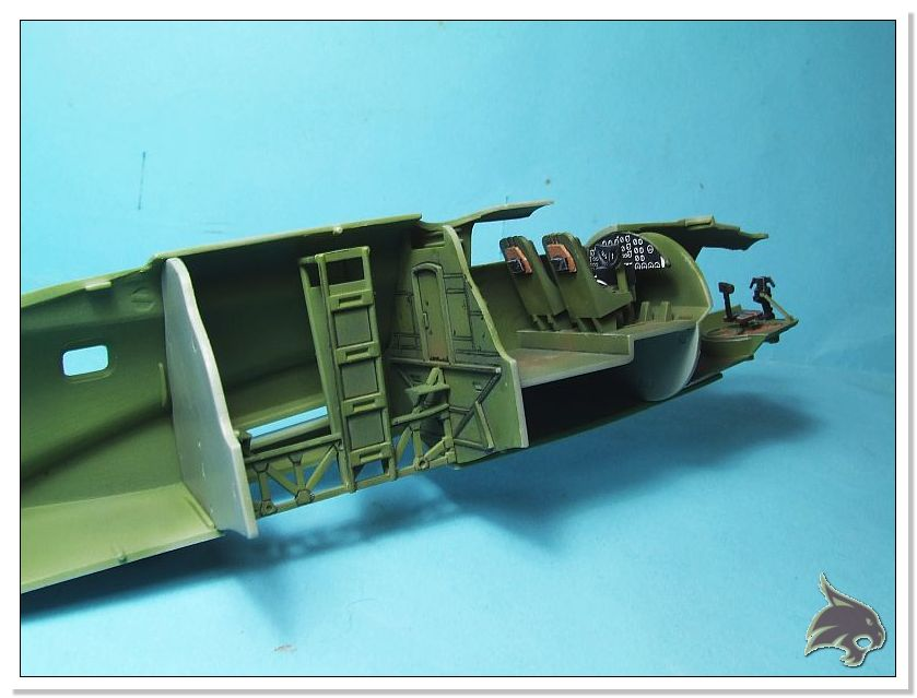 Boeing B-17 G Flying Fortress, 486th Group Bomber 1944 - Academy 1/72 Pintura17