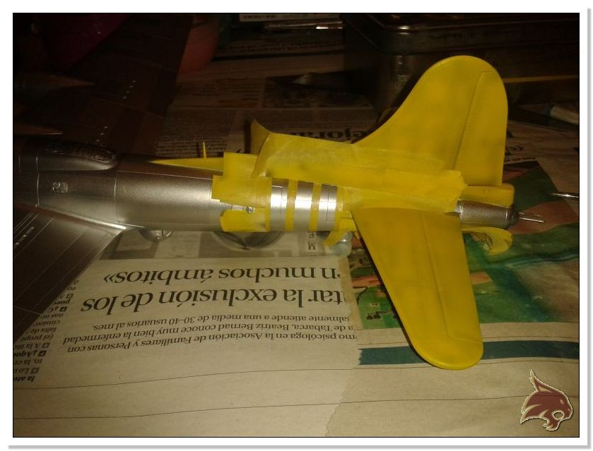 Boeing B-17 G Flying Fortress, 486th Group Bomber 1944 - Academy 1/72 Pintura22
