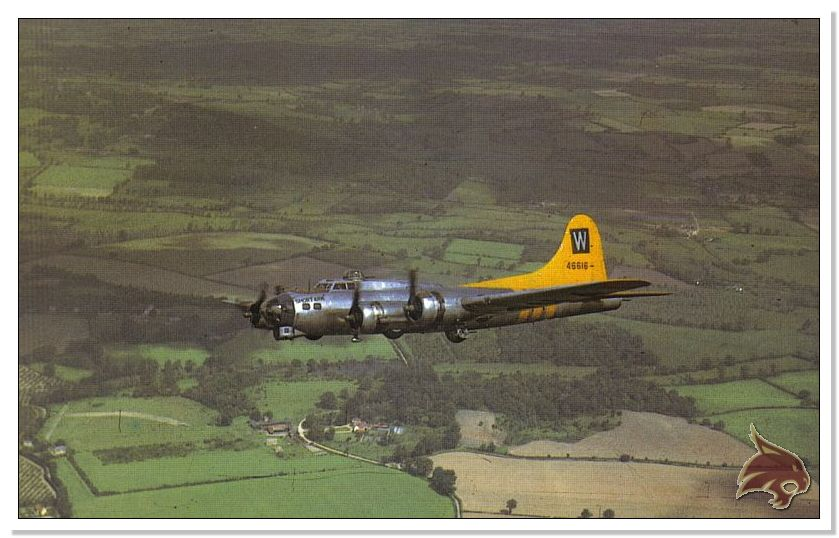Boeing B-17 G Flying Fortress, 486th Group Bomber 1944 - Academy 1/72 Ref03