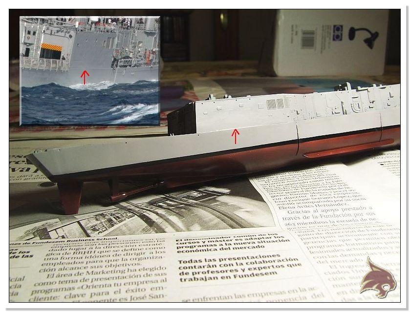 Fragata Canarios - Armada Española - 1/350 Can20