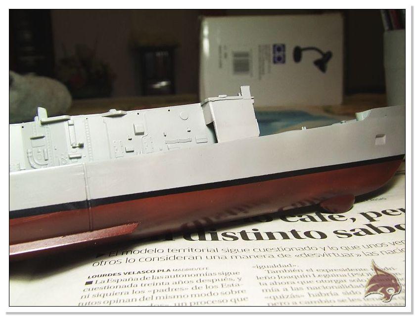 Fragata Canarios - Armada Española - 1/350 Can21