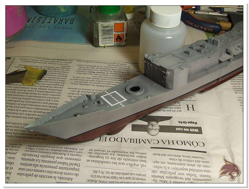 Fragata Canarios - Armada Española - 1/350 Can24