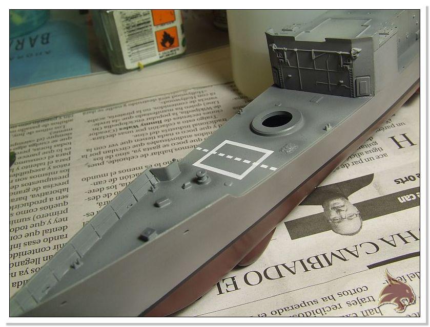 Fragata Canarios - Armada Española - 1/350 Can25