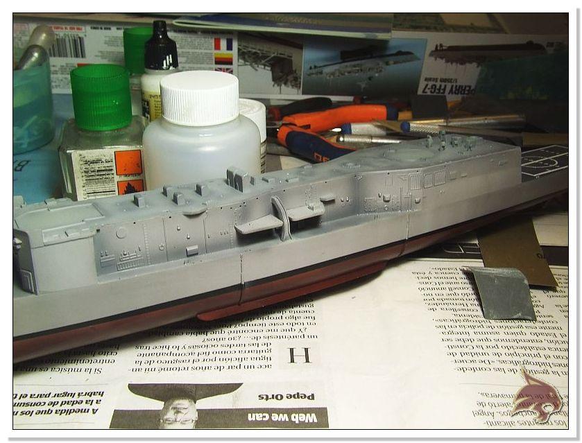 Fragata Canarios - Armada Española - 1/350 Can26