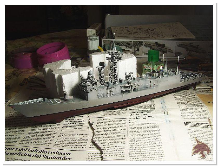 Fragata Canarios - Armada Española - 1/350 Can34