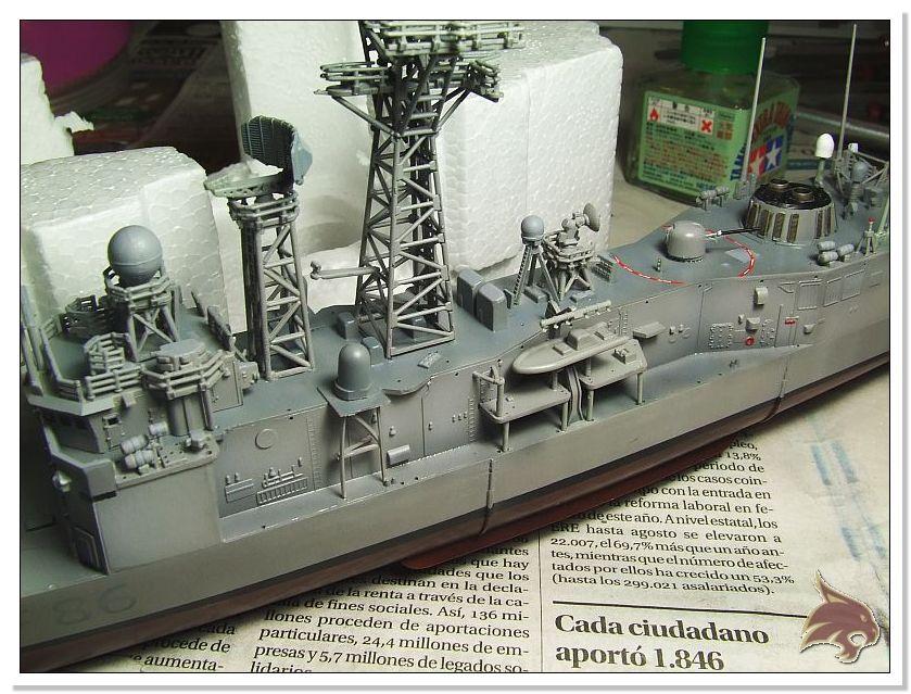 Fragata Canarios - Armada Española - 1/350 Can35