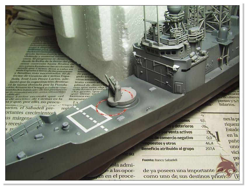 Fragata Canarios - Armada Española - 1/350 Can36