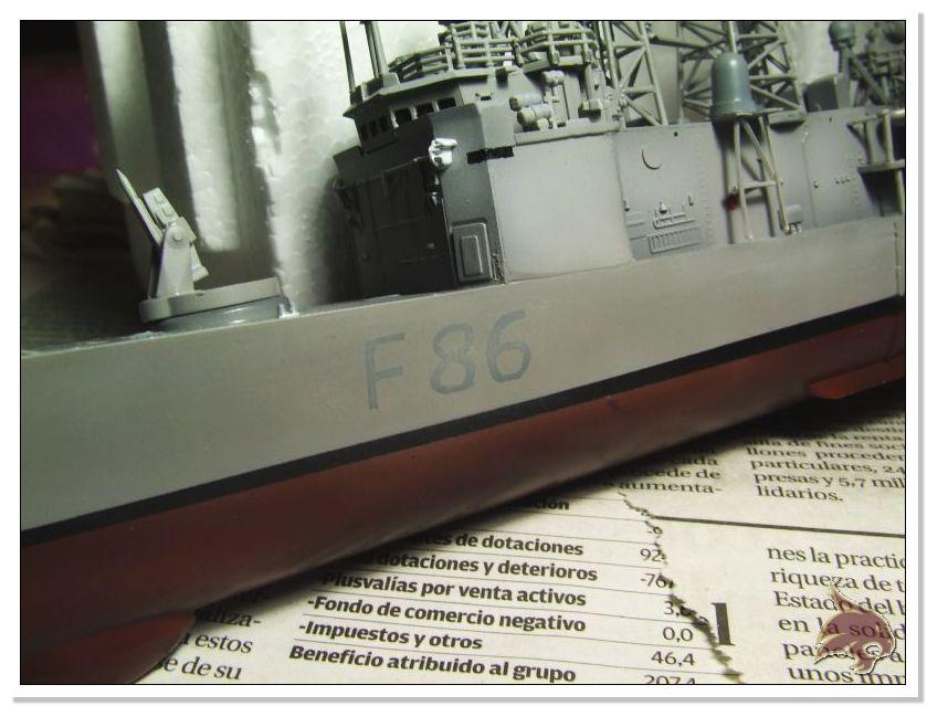 Fragata Canarios - Armada Española - 1/350 Can37