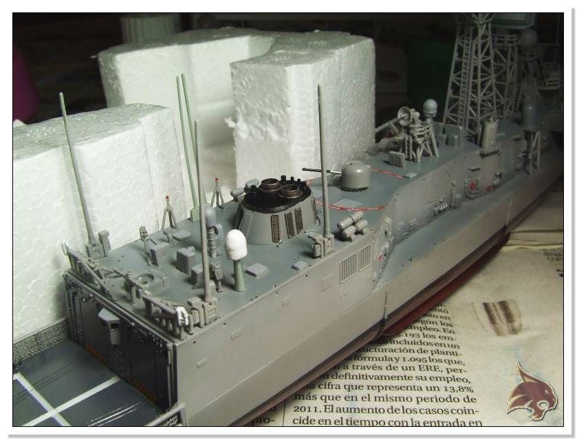 Fragata Canarios - Armada Española - 1/350 Can39