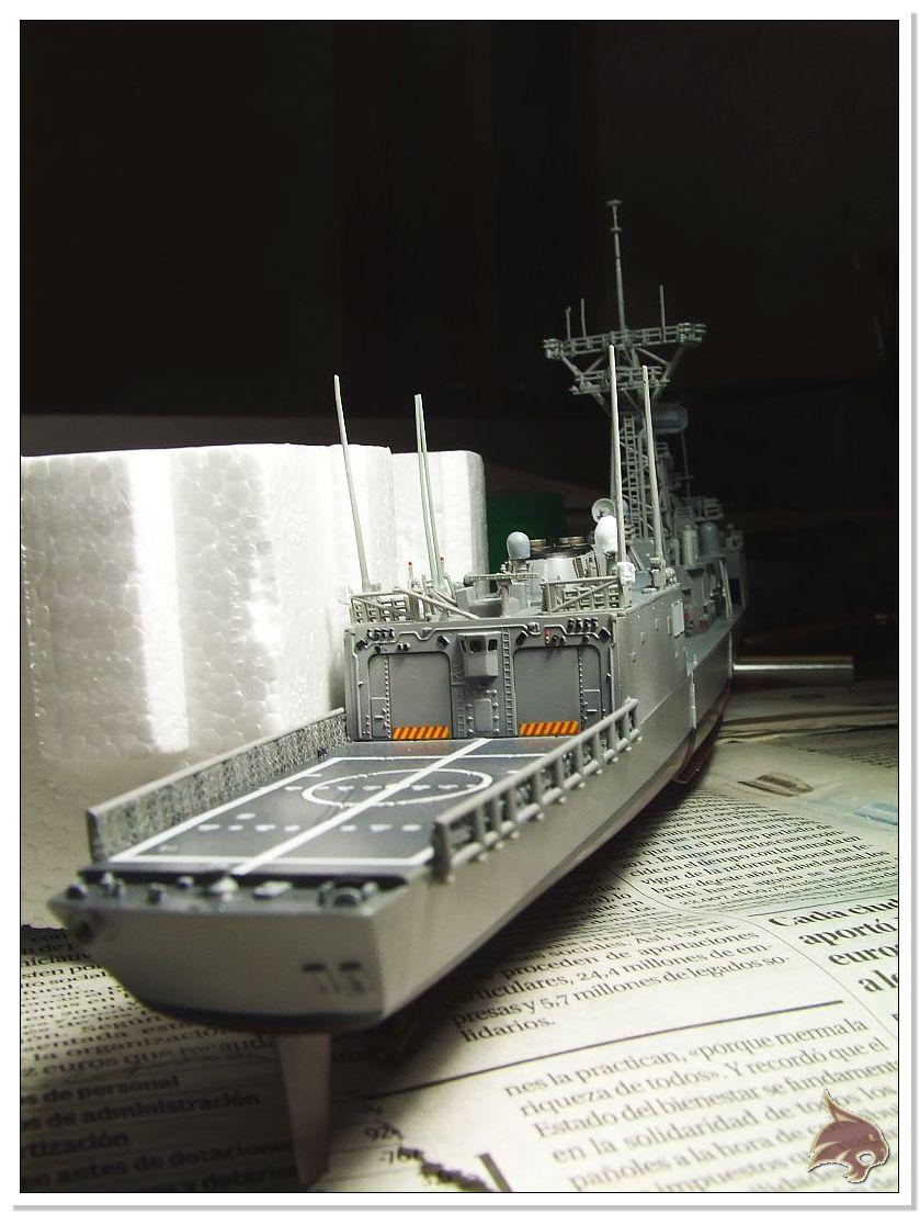 Fragata Canarios - Armada Española - 1/350 Can40