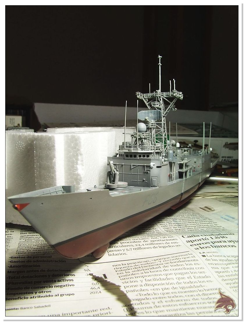 Fragata Canarios - Armada Española - 1/350 Can41