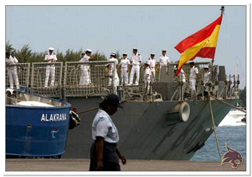 Fragata Canarios - Armada Española - 1/350 Ref01