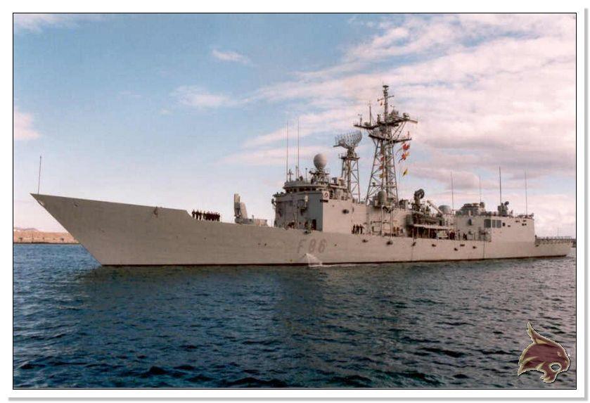 Fragata Canarios - Armada Española - 1/350 Ref02