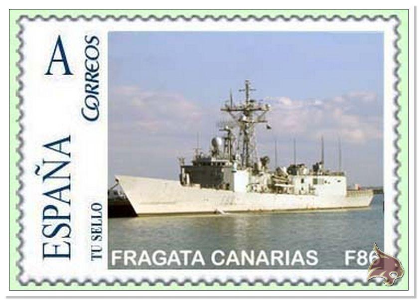 Fragata Canarios - Armada Española - 1/350 Ref04