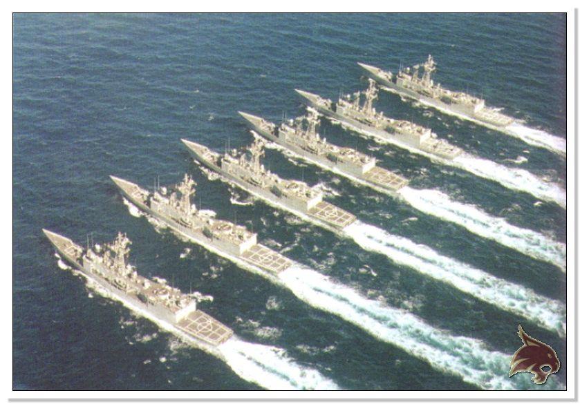 Fragata Canarios - Armada Española - 1/350 Ref07