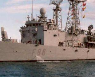Fragata Canarios - Armada Española - 1/350 Ref08