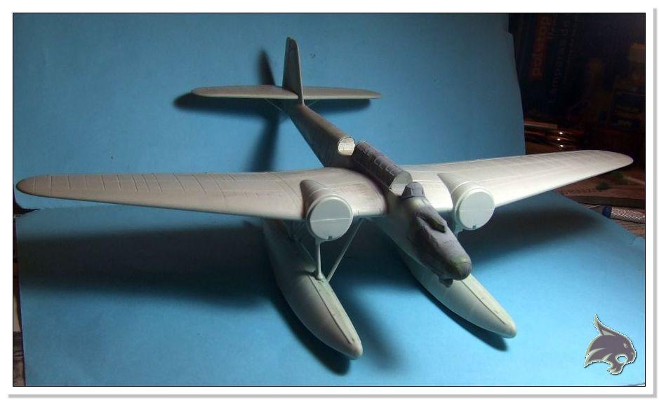 "Heinkel He 115 A-0 ""Base Pollensa - Mallorca"" Guerra Civil Española / Revell 1/72 31"