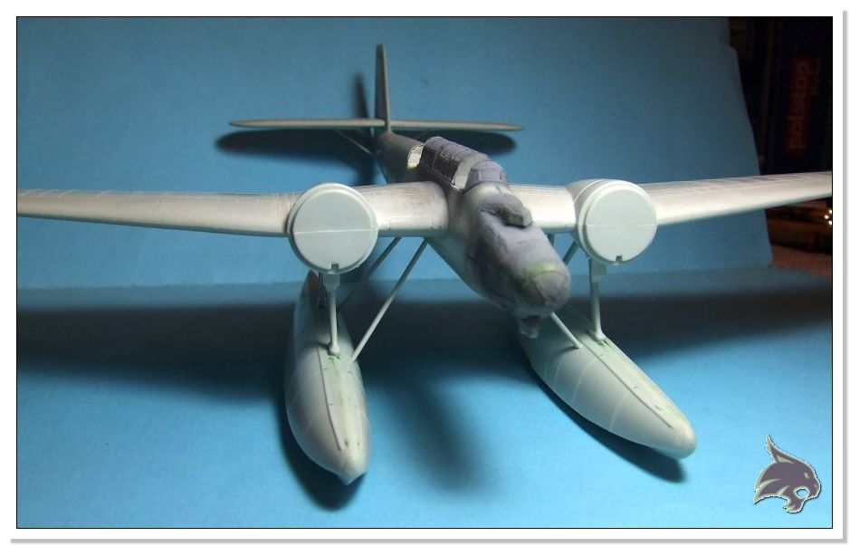 "Heinkel He 115 A-0 ""Base Pollensa - Mallorca"" Guerra Civil Española / Revell 1/72 32"