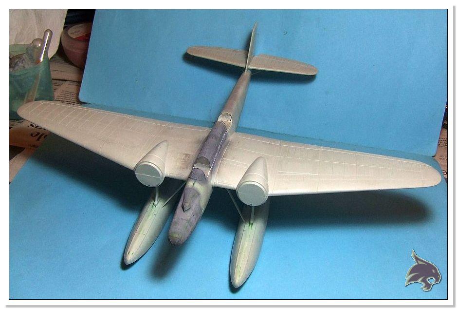 "Heinkel He 115 A-0 ""Base Pollensa - Mallorca"" Guerra Civil Española / Revell 1/72 33"
