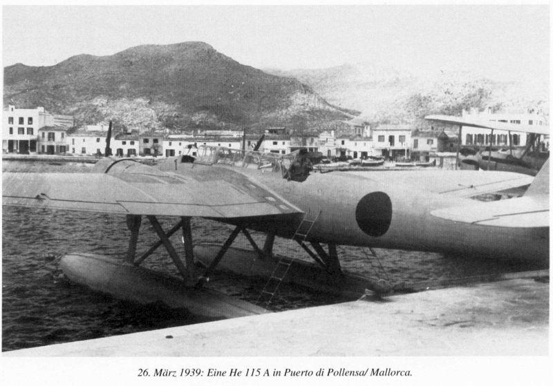"Heinkel He 115 A-0 ""Base Pollensa - Mallorca"" Guerra Civil Española / Revell 1/72 Ref01"