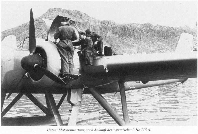 "Heinkel He 115 A-0 ""Base Pollensa - Mallorca"" Guerra Civil Española / Revell 1/72 Ref02"