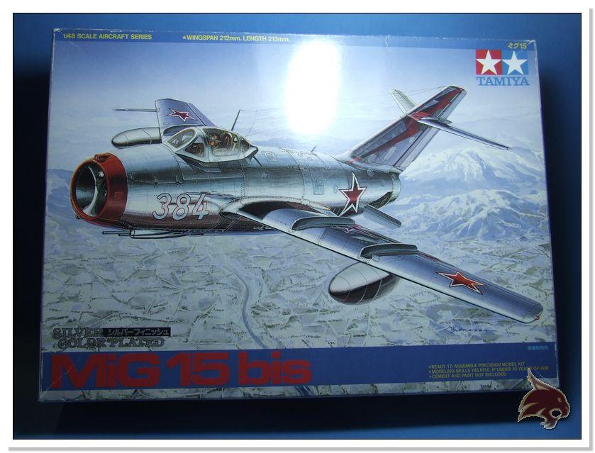 Mikoyan Gurevich MiG 15 Bis - Tamiya 1/48 Box01
