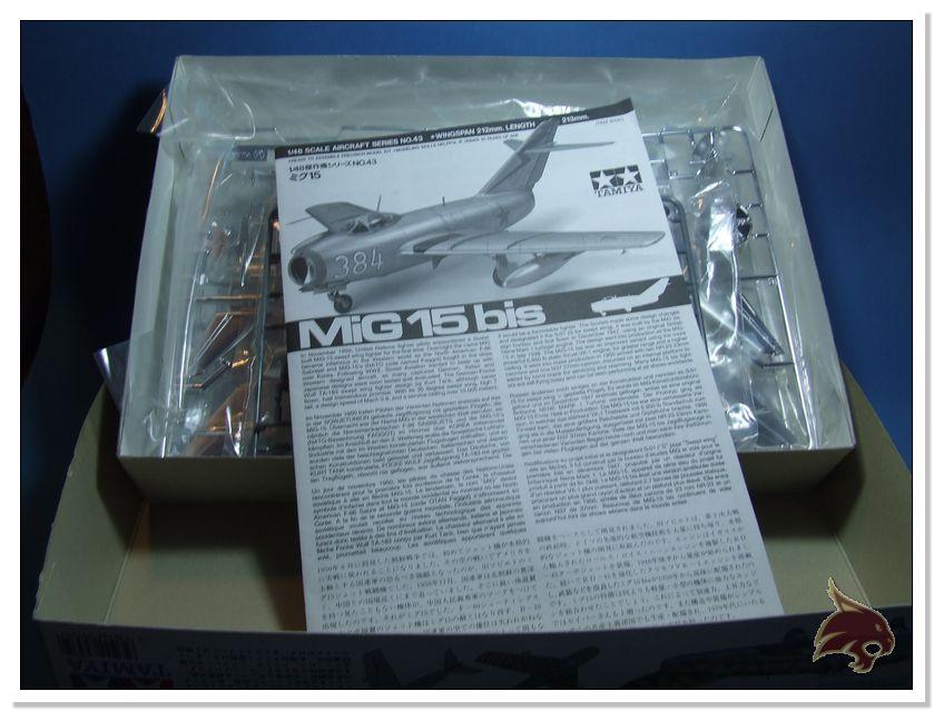 Mikoyan Gurevich MiG 15 Bis - Tamiya 1/48 Box02