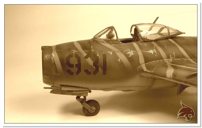Mikoyan Gurevich MiG 15 Bis - Tamiya 1/48 End02