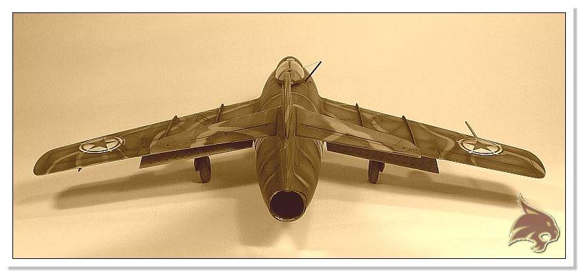 Mikoyan Gurevich MiG 15 Bis - Tamiya 1/48 End04