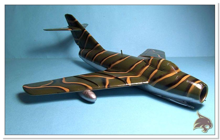 Mikoyan Gurevich MiG 15 Bis - Tamiya 1/48 Pintura04