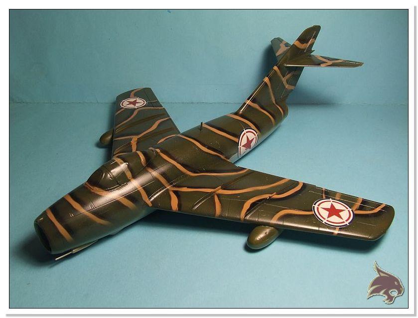 Mikoyan Gurevich MiG 15 Bis - Tamiya 1/48 Pintura08