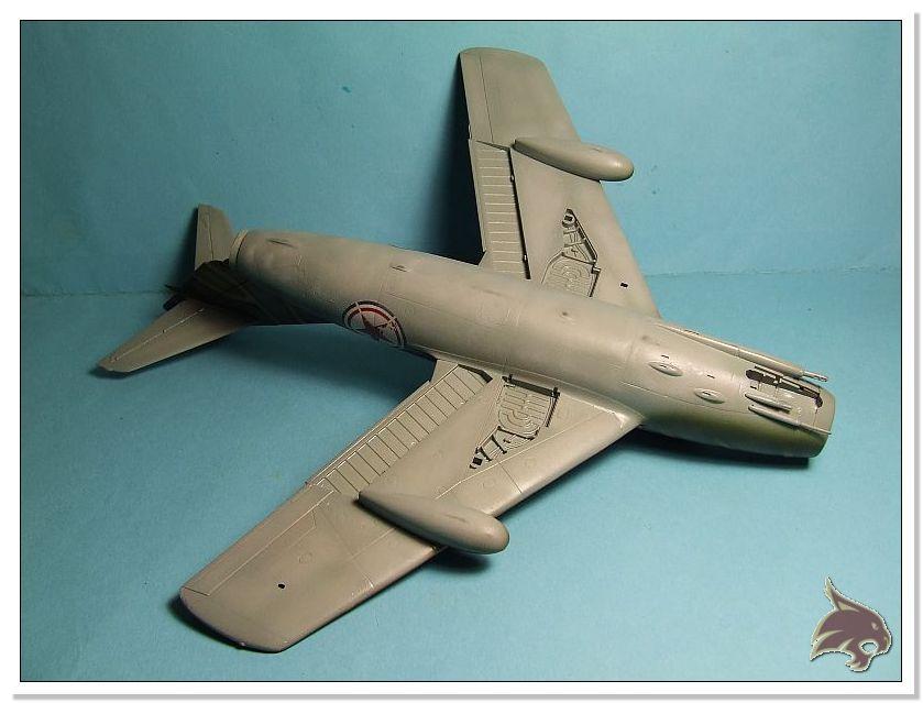 Mikoyan Gurevich MiG 15 Bis - Tamiya 1/48 Pintura09