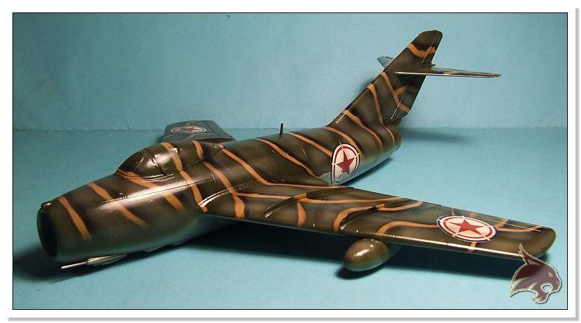 Mikoyan Gurevich MiG 15 Bis - Tamiya 1/48 Pintura14