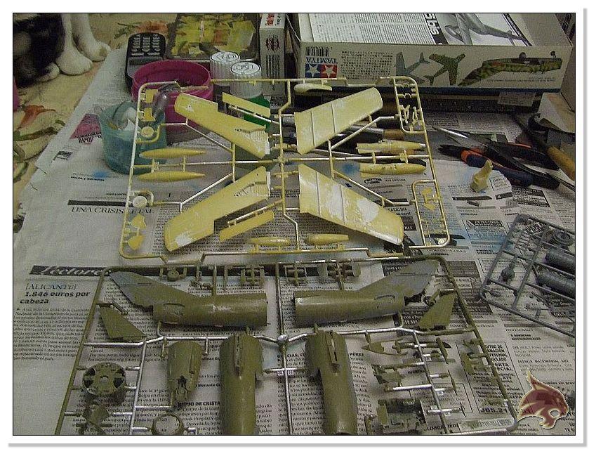 Mikoyan Gurevich MiG 15 Bis - Tamiya 1/48 Proceso01