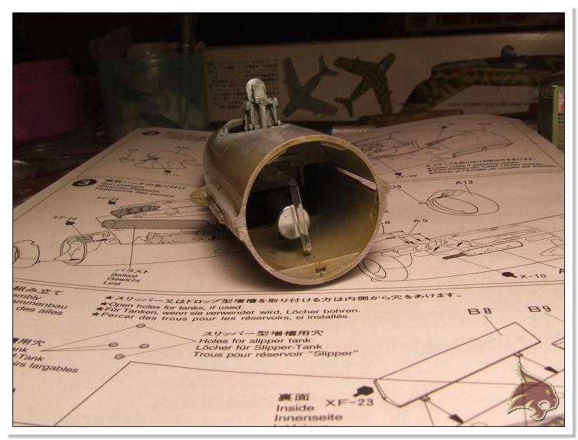 Mikoyan Gurevich MiG 15 Bis - Tamiya 1/48 Proceso13