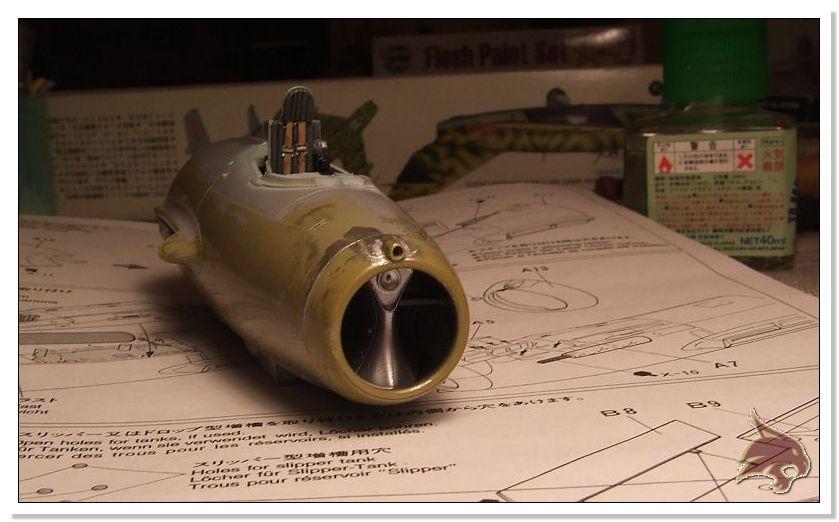 Mikoyan Gurevich MiG 15 Bis - Tamiya 1/48 Proceso14
