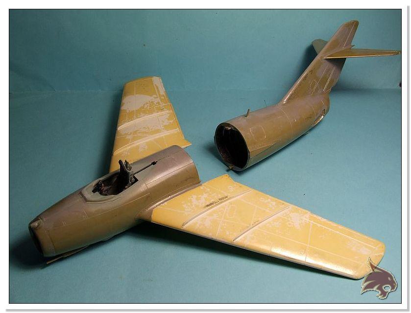 Mikoyan Gurevich MiG 15 Bis - Tamiya 1/48 Proceso15