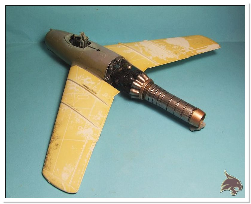 Mikoyan Gurevich MiG 15 Bis - Tamiya 1/48 Proceso19