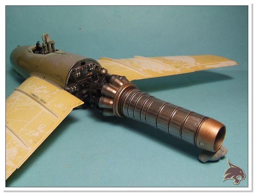 Mikoyan Gurevich MiG 15 Bis - Tamiya 1/48 Proceso20