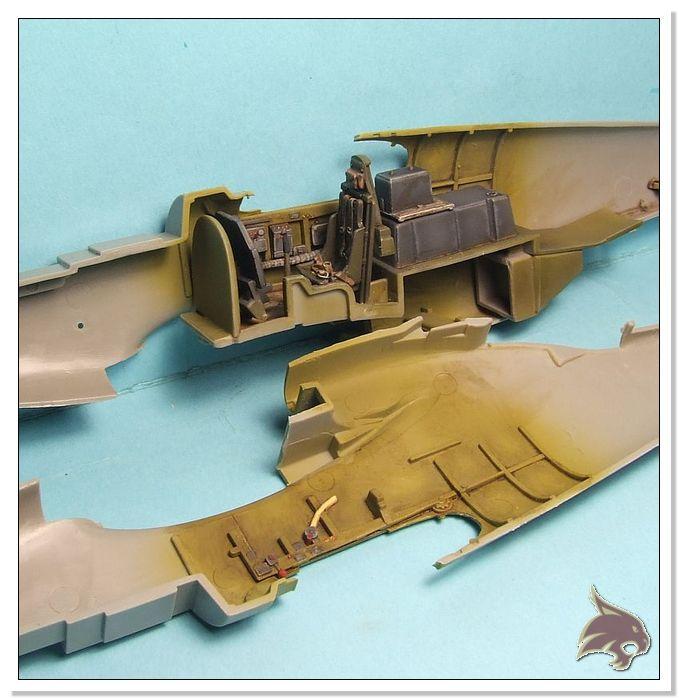 North American P-51 B - ICM 1/48 18
