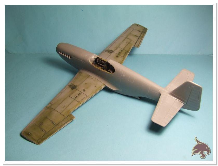 North American P-51 B - ICM 1/48 19