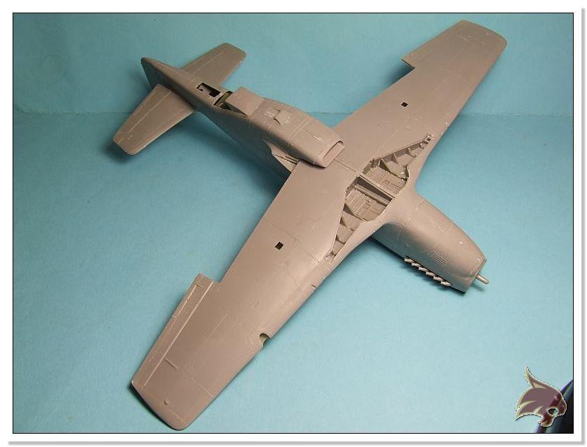 North American P-51 B - ICM 1/48 20