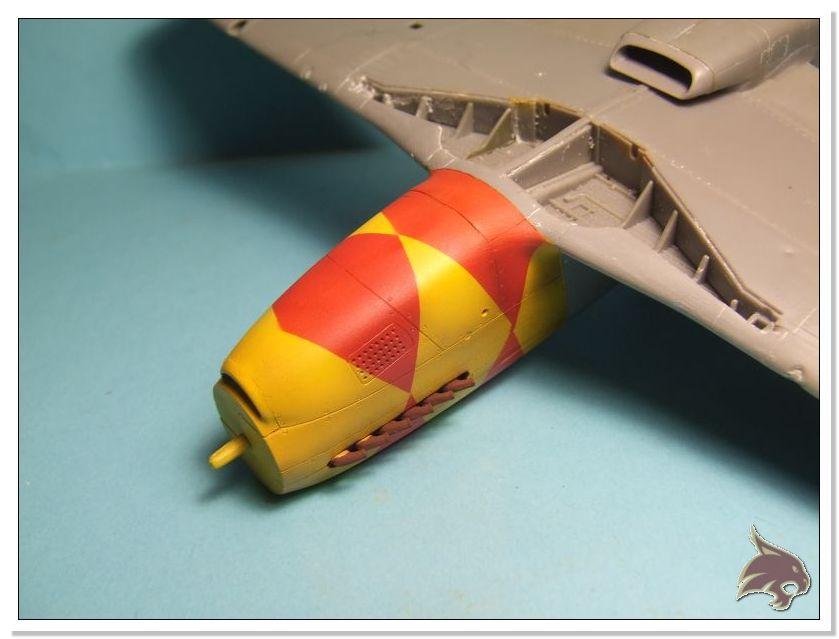 North American P-51 B - ICM 1/48 28