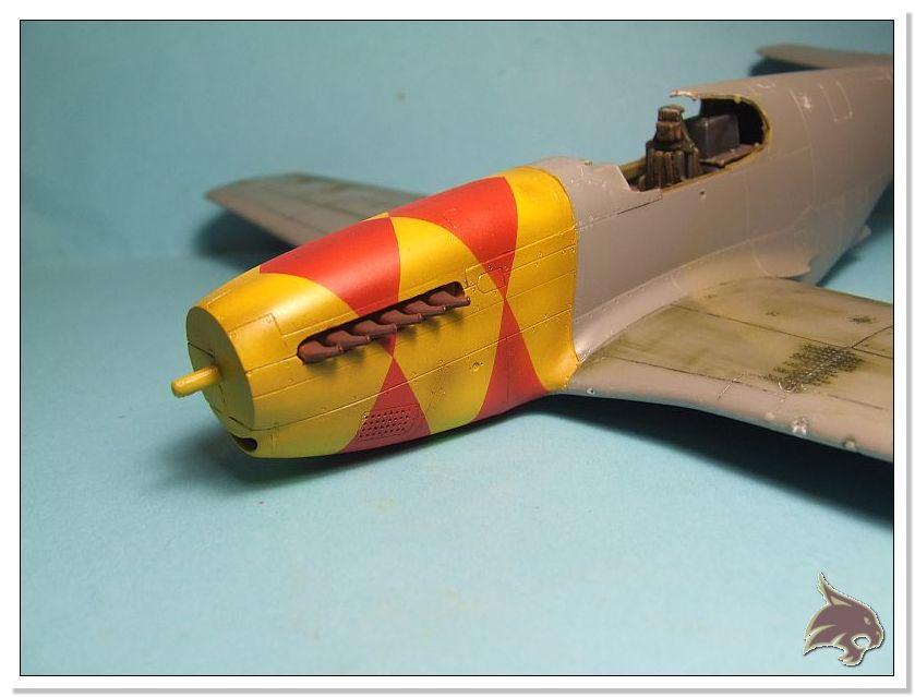 North American P-51 B - ICM 1/48 29