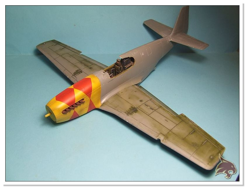 North American P-51 B - ICM 1/48 30